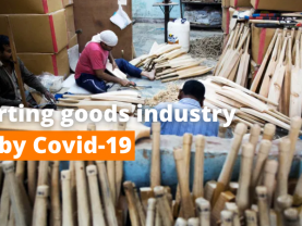 Covid-19 cripples sporting goodsCovid-19 cripples sporting goods
