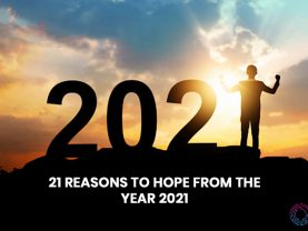 21 reasons to hope from the year 2021