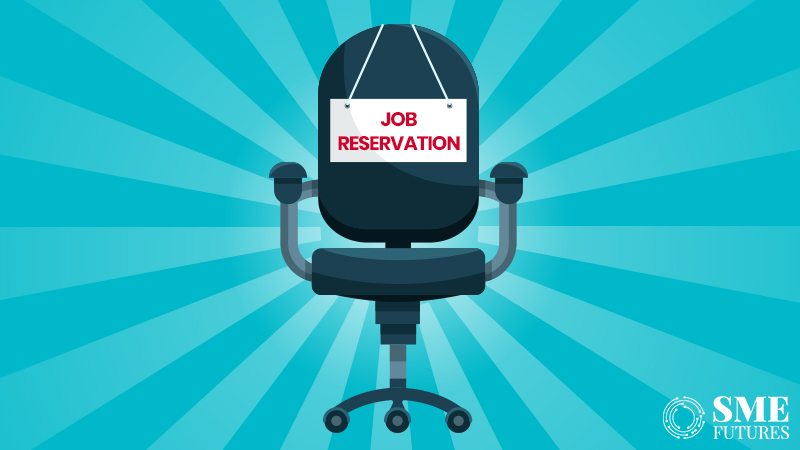 Inside article2-States rush to follow the suit; Reserving job with quotes is becoming a trend