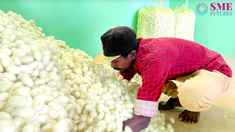 ReshaMandi-A tech silk-route for the Indian silk stakeholders