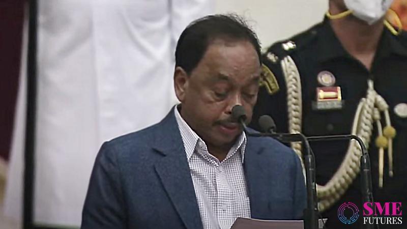 Narayan Rane Becomes MSME Minister