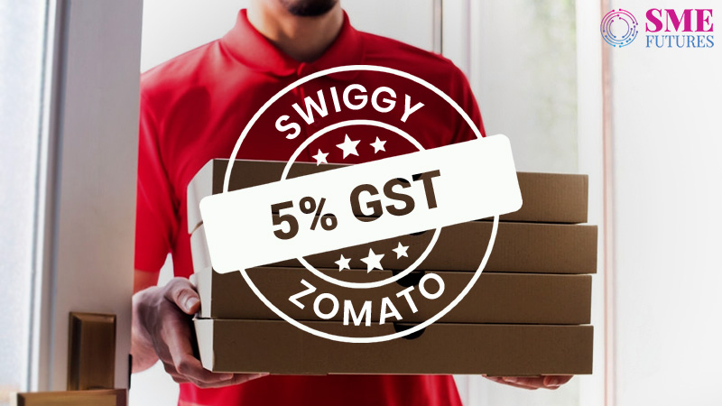 Swiggy, Zomato to collect 5 percent GST on deliveries, food not to get dearer