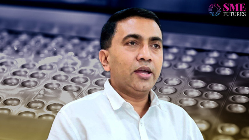Goa accounts for 12 percent of drug manufacturing in India-CM Pramod Sawant